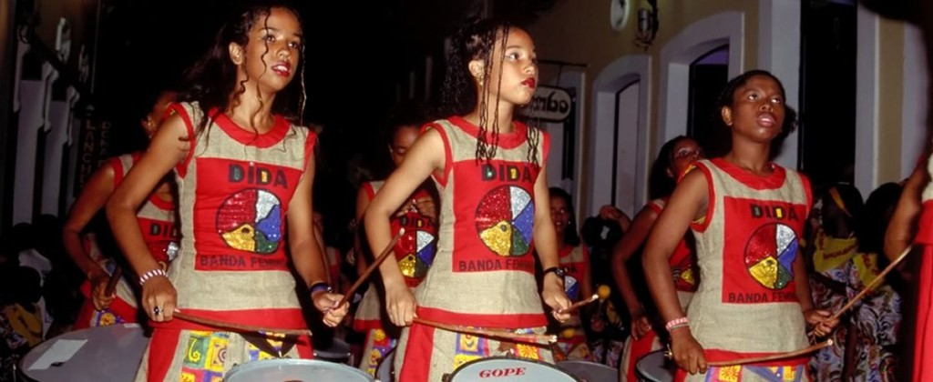 One of the Samba schools of Salvador de Bahia.