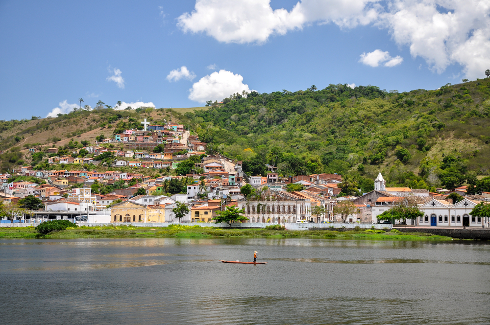 View of Cachoeira, a small town near Salvador de Bahia.