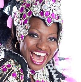 détail costume carnaval rio