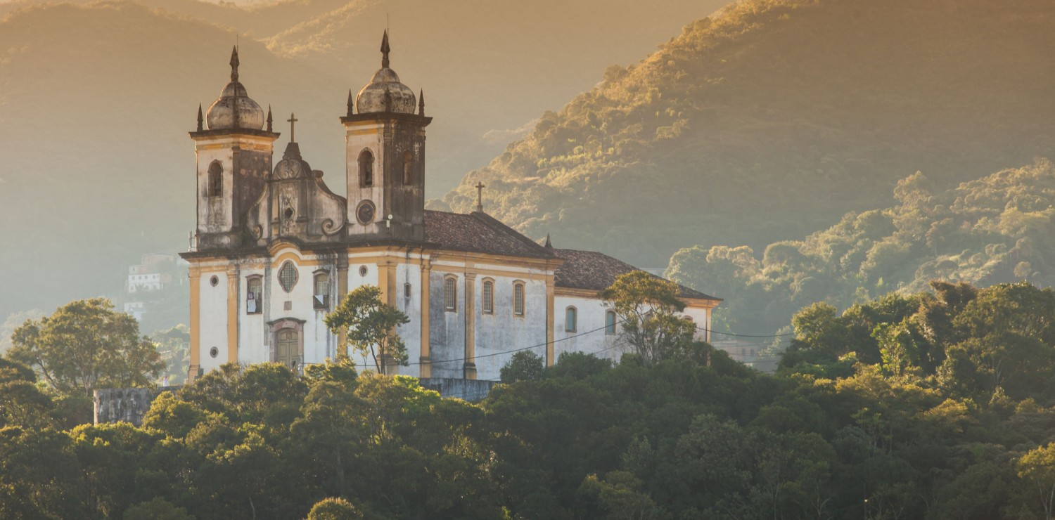 Church in nature Minas Gerais