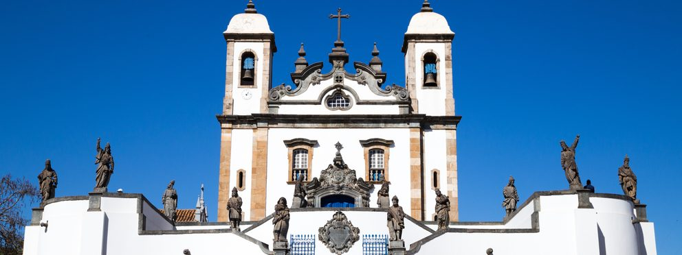 Congonhas church in Minas Gerais.