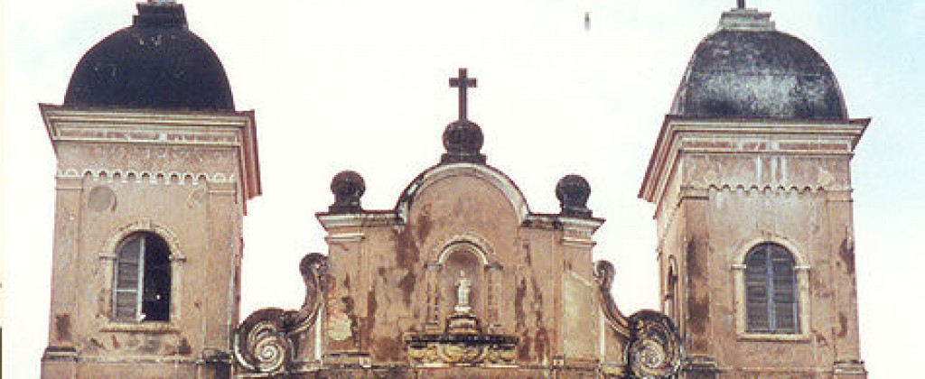 An old church in Minas Gerais.