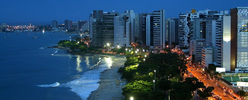 Fortaleza night view