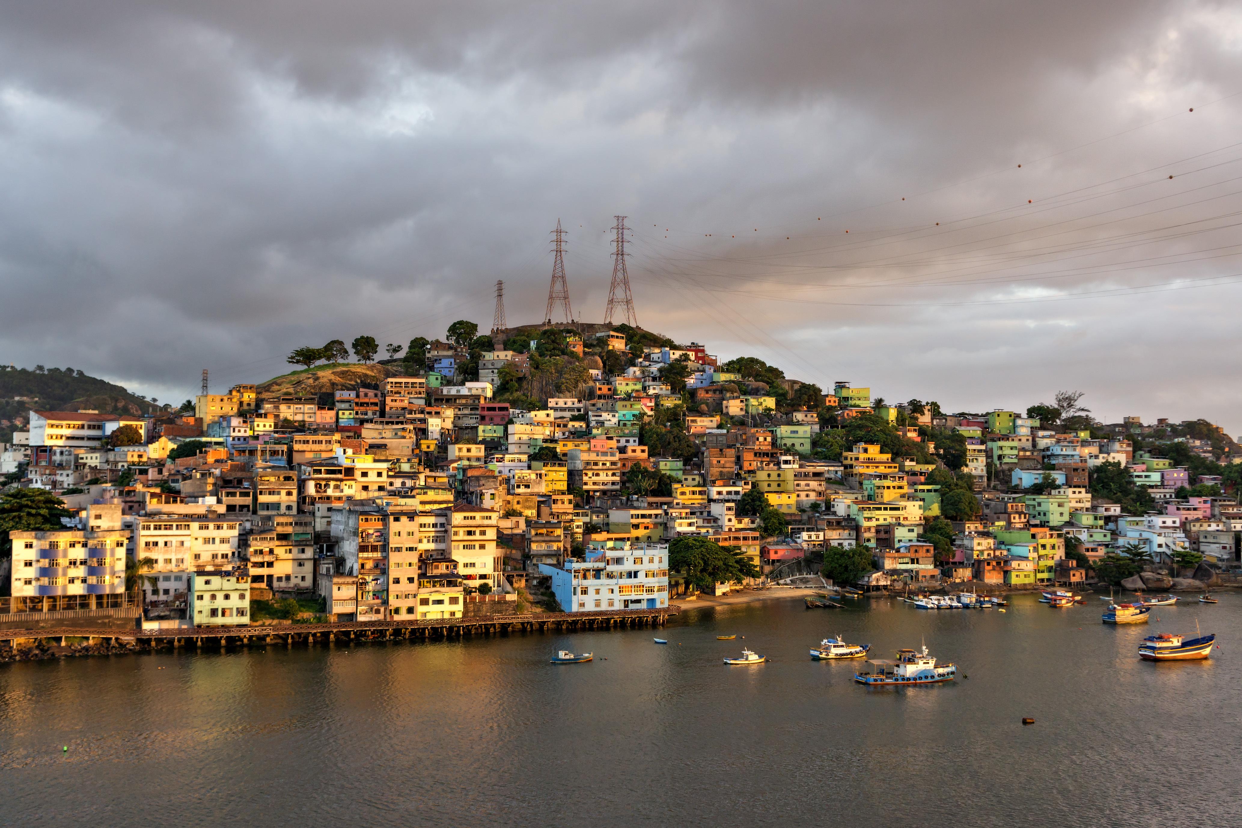 Manaus maisons colorées