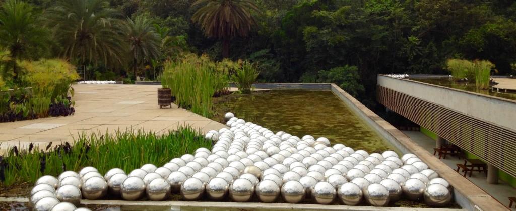 Sculpture at INHOTIM park in Minas Gerais.