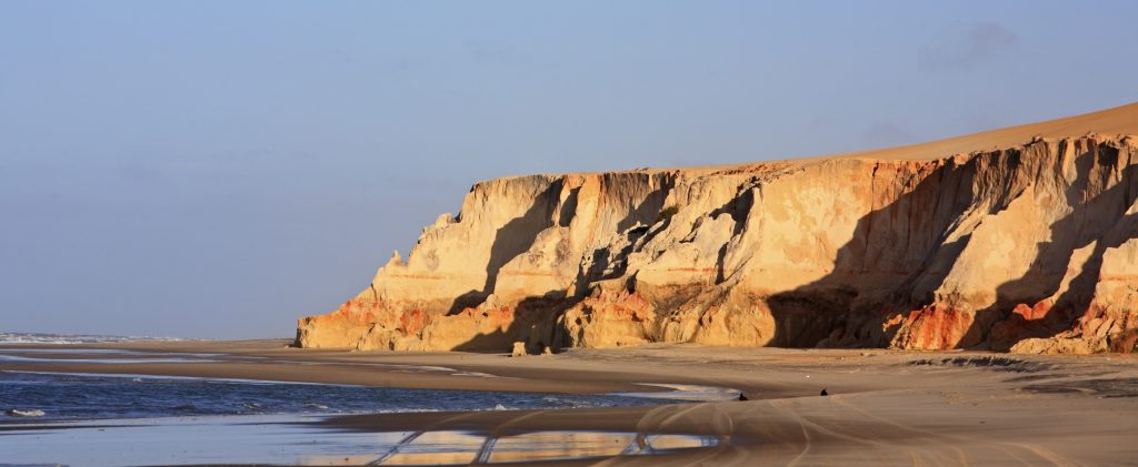beaches of Morro Branco Natal in Fortaleza