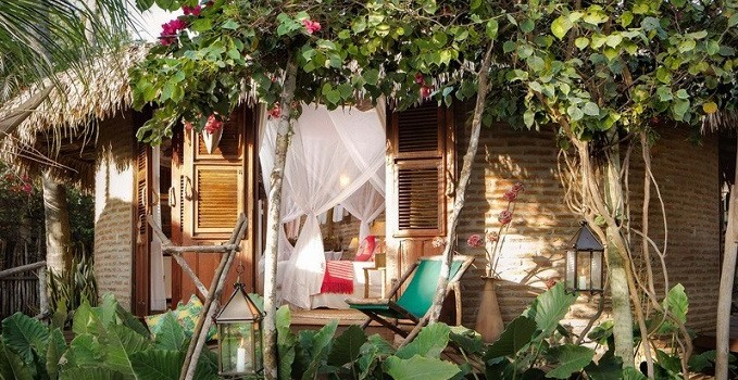 Vila kango, the most eco - friendly stop in Jericoacoara.