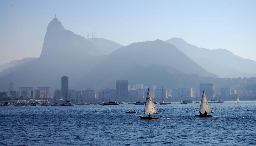 Rio de Janeiro Corcovado view of the bay