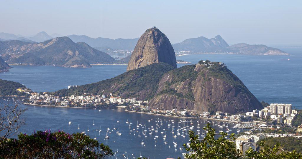 Pão de Acucar - suugarloaf mountain in Rio de Janeiro.