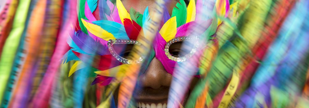 Salvador Carnival - filled with colour.