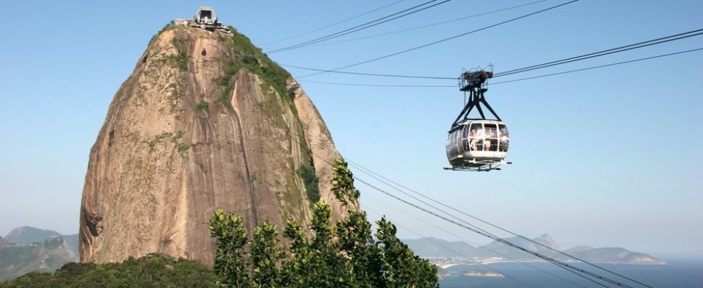 Pão de Açucar in Rio de Janeiro.