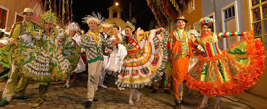 Carnaval Olinda, a very lively and popular event.