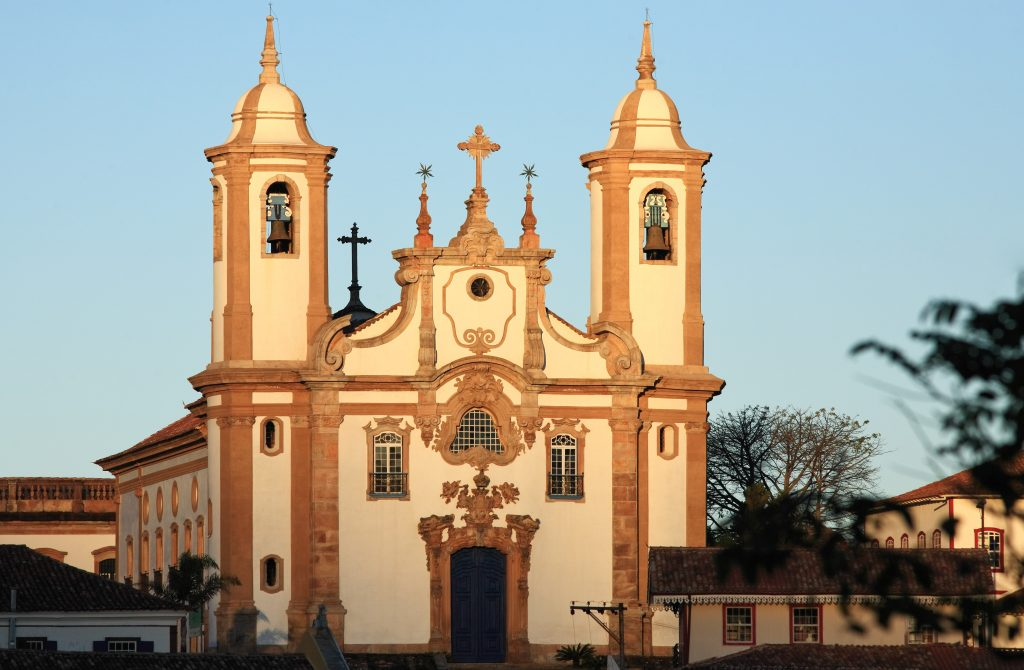 The Notre Dame do Carmo church in Minas Gerais.