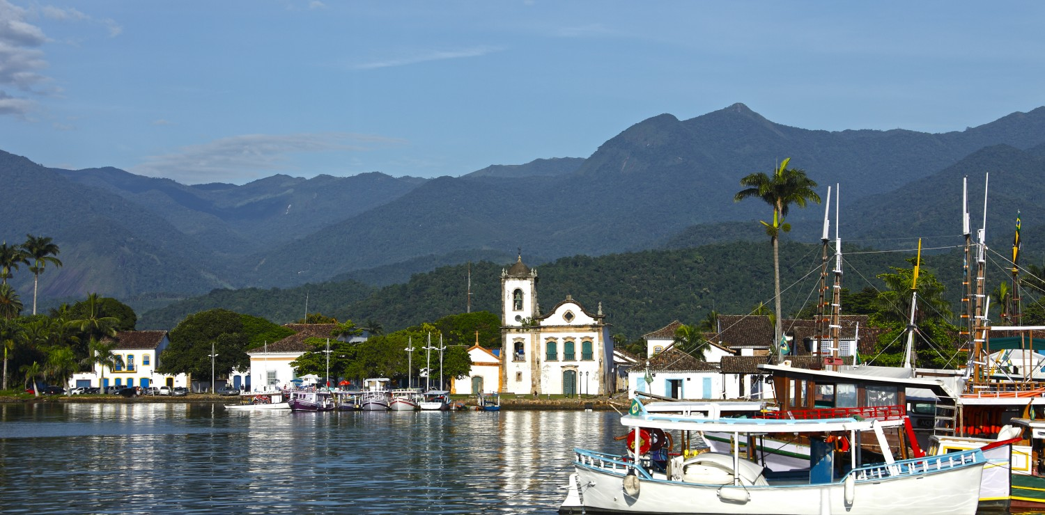 paraty port view
