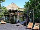 Juma lodge, the Amazon lodge perched on stilts.