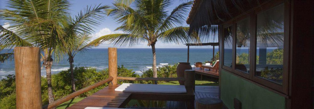 Bangalow in the Luxury Txai Resort in Itacaré.
