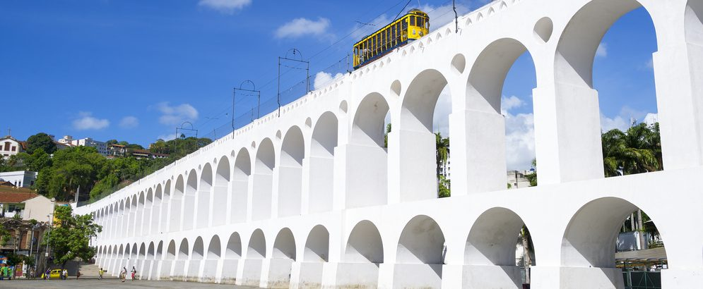 Bondinho Santa Tereza Rio de Janeiro