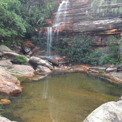 cascades près de lençois Chapada Diamantina