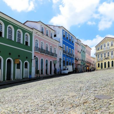 Largo do pelourinho in Salvador de Bahia.