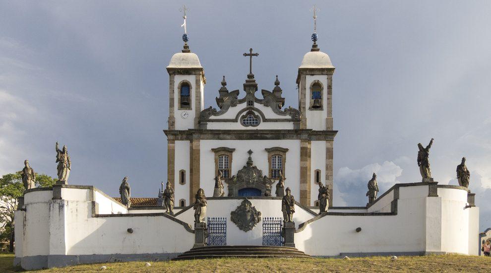 Bom Jesus de congonhas chapel in Minas Gerais.