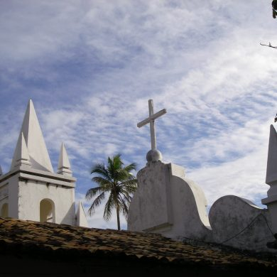 Church at Praia do Forte.