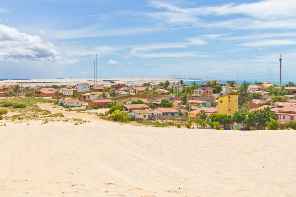 Panormaic view of Canoa village.