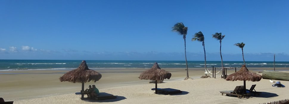 Guajiru plage pousada rede beach