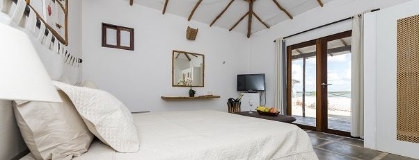 Double room in the pousada Amagali.