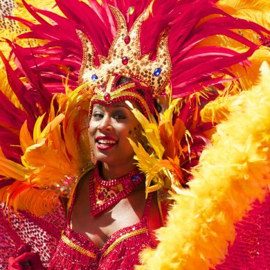 Carnaval in Rio, magnificent costumes!