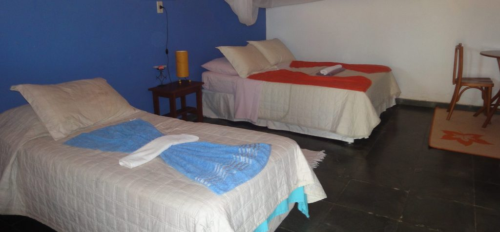 Double room at Fazenda Santa Tereza.