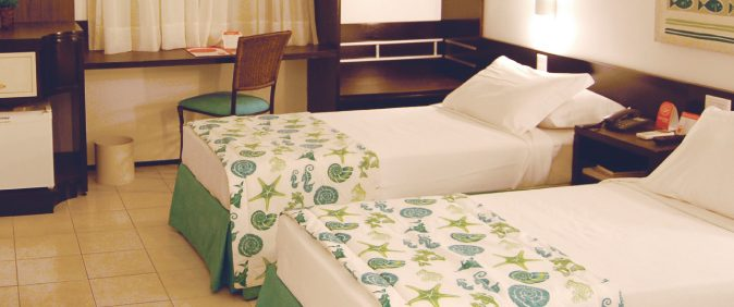 Double room in hotel Sonata Iracema.
