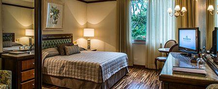 Chambre vue jardin Hotel Bourbon Iguaçu