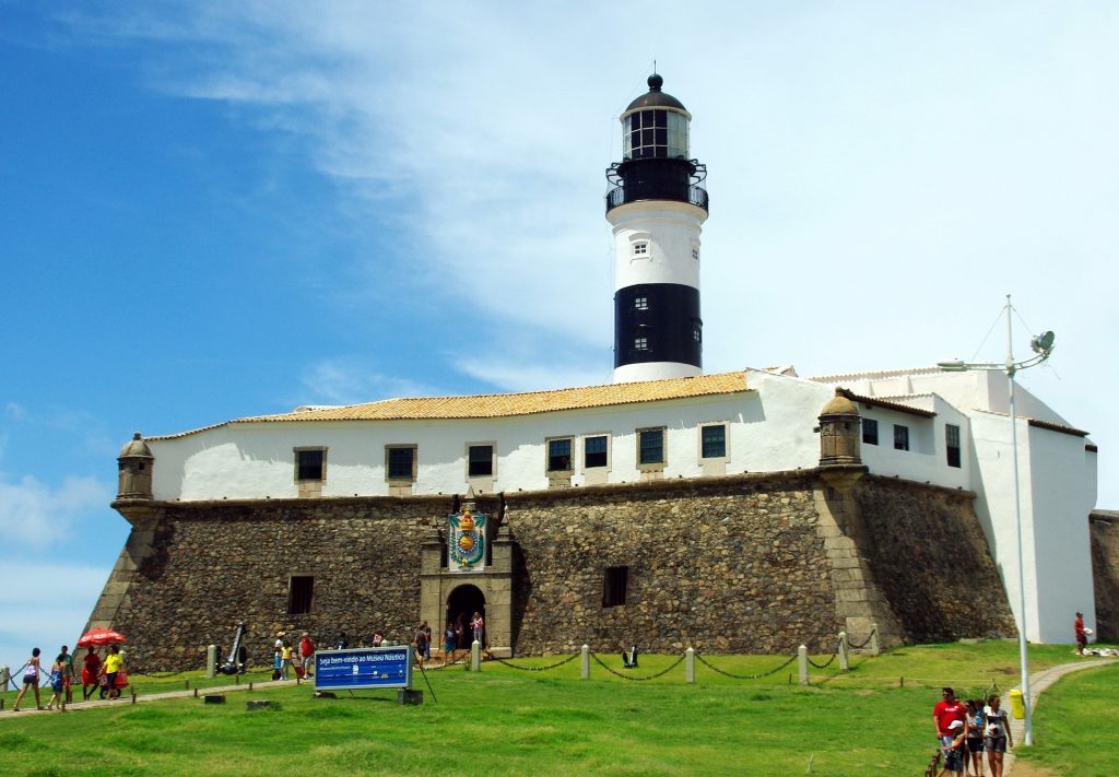 Peninsula at Salvador de Bahia.