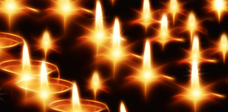 bougies sacrées