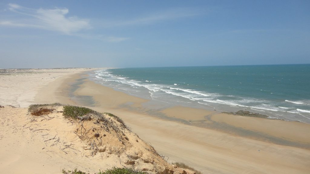 Beaches in the Nordeste as far as the eye can see.