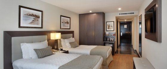 Room in hotel miramar in Rio de Janeiro.