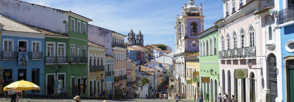 Historic center of Salvador - Pelourinho.