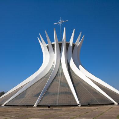 Brasilia metropolitan cathedra - Notre Dame.