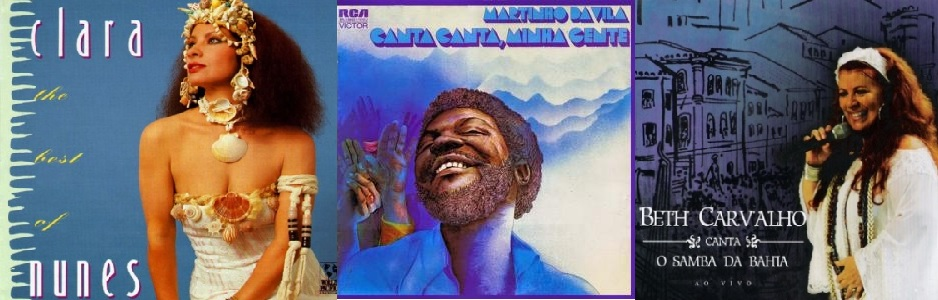 Three of the best Samba albums from Brazil.