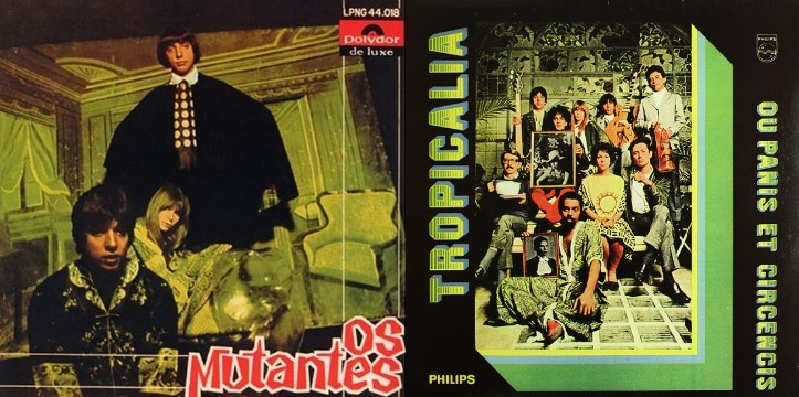 Record sleeve of Tropicalia by Os Mutantes.