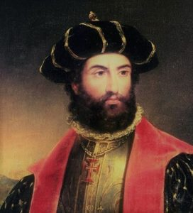 Pedro Alvarez Cabral - The first Portuguese explorer to discover Brazil.