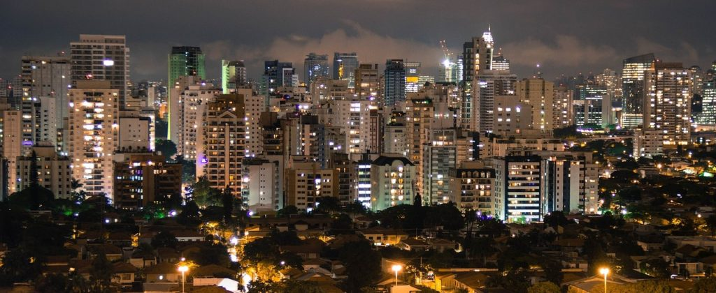 The cityscape of São Paulo, somewhere you are very likely to visit if doing business in Brazil.