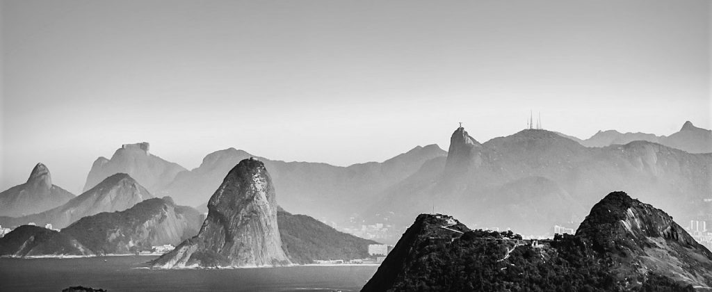 View of Rio de Janeiro bay.