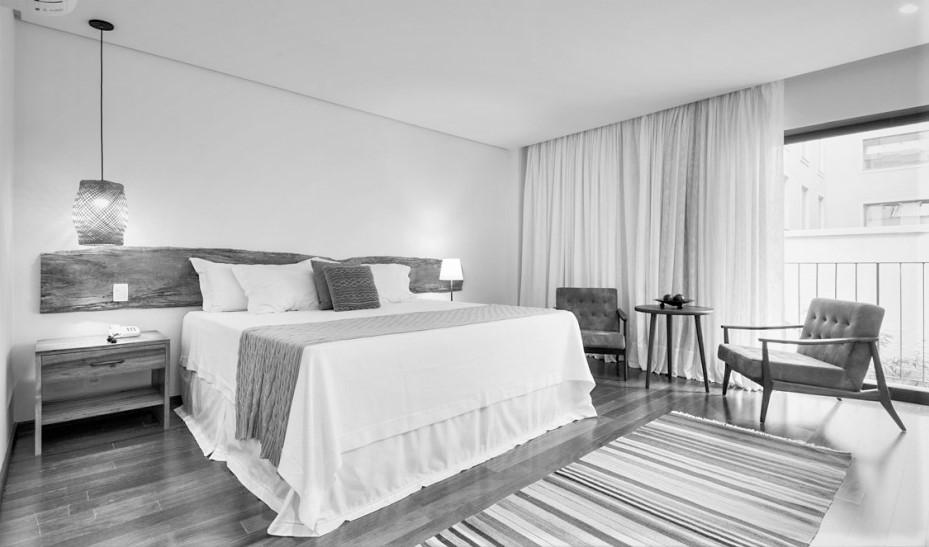 Villa Amazonia room in Black and White.