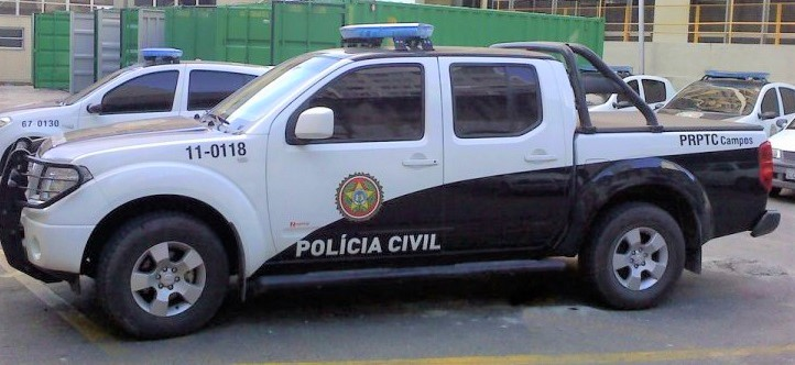 Emergency Services in Brazil - Police response car.