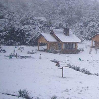 Snow in Brazil - São Joaquim, on a snowy day.