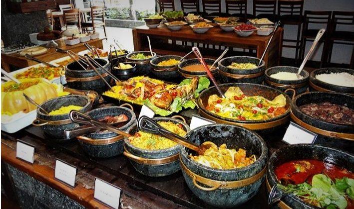 "Brazilian ""Per Kilo"" Restaurant."