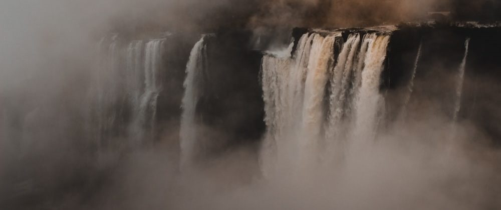 Brazilian Landmark - Iguassu Falls.